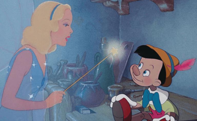 1940 年迪士尼推出第二部動畫電影:《木偶奇遇記》。