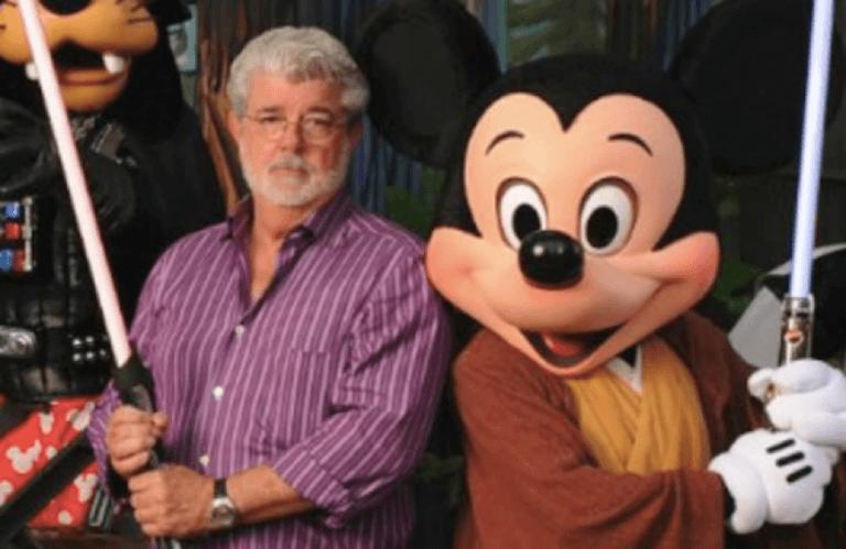 喬治盧卡斯將星際大戰賣給迪士尼