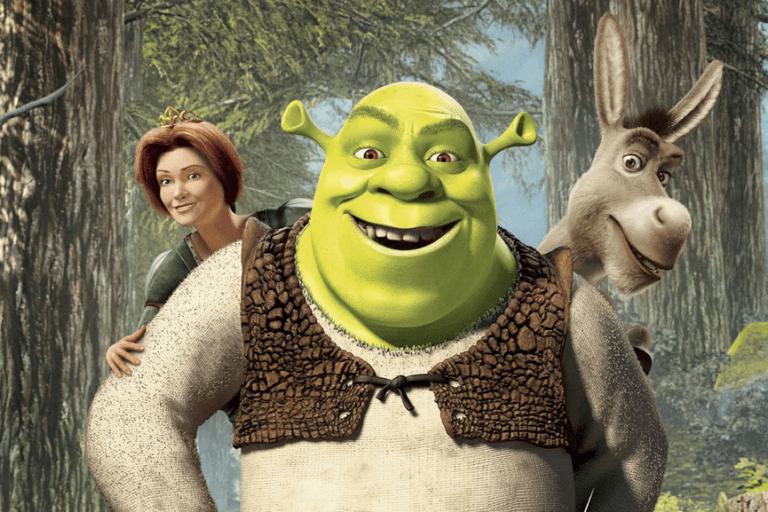 夢工廠 2001 年動畫電影《史瑞克》,改編自童書的本片獲得超乎預期的票房成績。