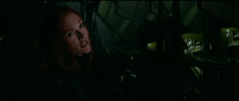 「黑寡婦」史嘉蕾喬韓森(Scarlett Johansson) 。