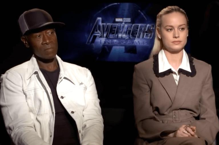 布萊恩分析布麗拉森 (Brie Larson) 的訪談片段。
