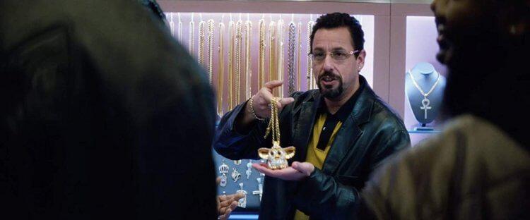 亞當山德勒 在新作《 Uncut Gems 》扮珠寶店老闆。