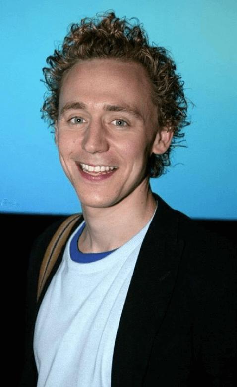 剛來好萊塢闖蕩的湯姆希德斯頓 (Tom Hiddleston) 很瘦