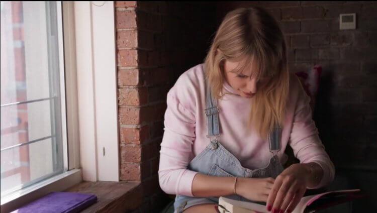 Netflix 紀錄片《泰勒絲:美國小姐》電影劇照。