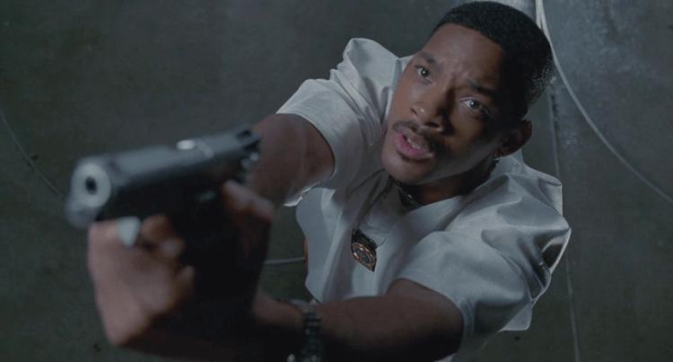 《MIB 星際戰警》中的菜鳥警探 J 探員:威爾史密斯飾演。