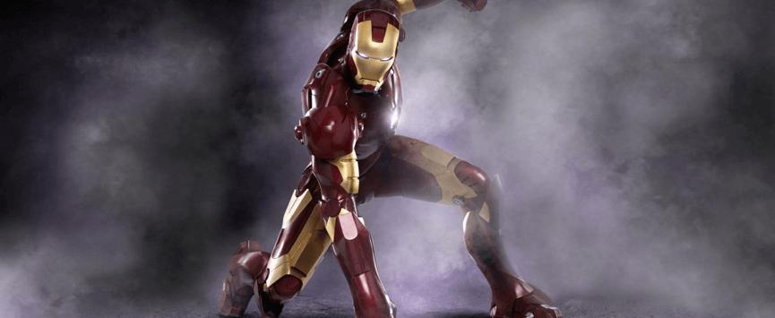 讓 鋼鐵人 示範 超級英雄 最經典的姿勢──