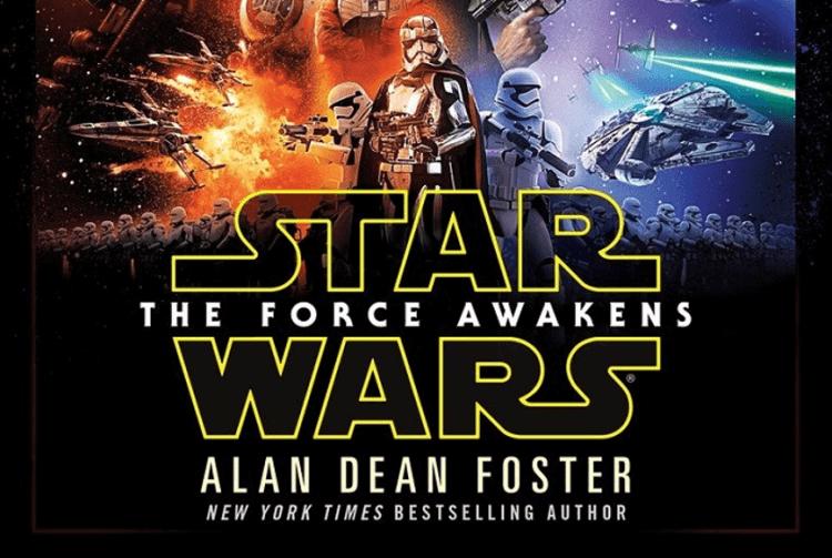 《STAR WARS:原力覺醒》小說。