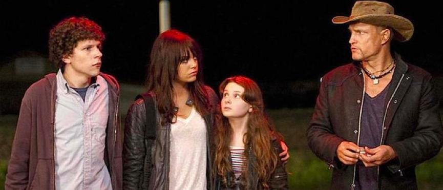 2009年 殭屍片 《 屍樂園 》劇照 。