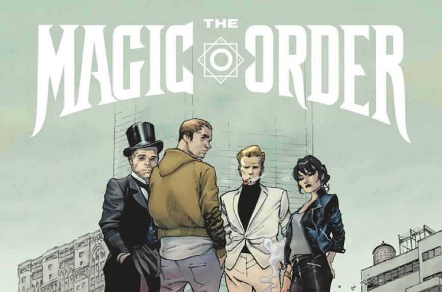 Netflix 和 漫畫家 馬克米勒 合作後推出的第一部作品 :《 魔法會 》。