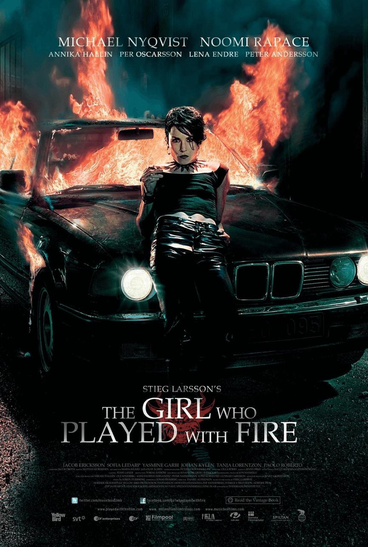 2009年瑞典版電影《 玩火的女孩 》