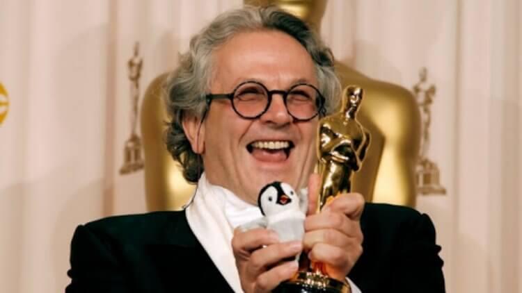 喬治米勒靠《快樂腳》拿到了奧斯卡年度最佳動畫電影獎。