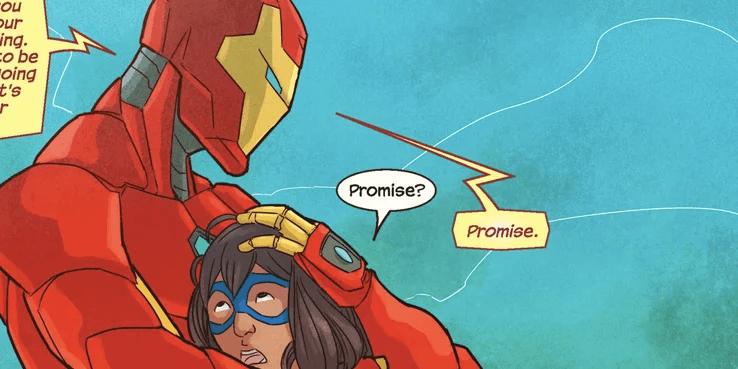 「驚奇女士」除了「驚奇隊長」外,還有許多超級英雄好友,包括了「鋼鐵人」、「蜘蛛人」等等。