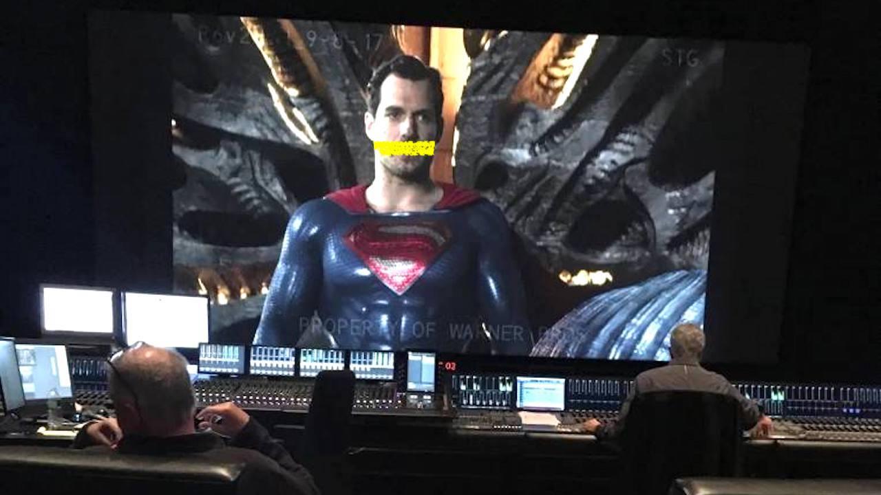 超人蓄鬍金母湯!《正義聯盟》幕後「修容」,不做死就不會死的後製現場曝光首圖