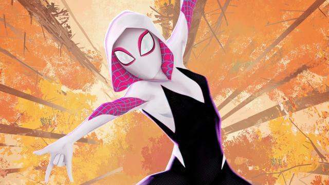 《蜘蛛人:新宇宙》中現身的女蜘蛛人關:關史黛西。