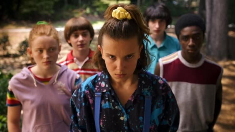 《怪奇物語》(Stranger Things) 第三季劇照。