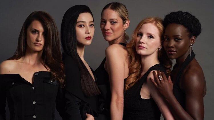 潔西卡雀絲坦要打破女性薪水歧視,召喚五湖四海女間諜在《355》集結首圖