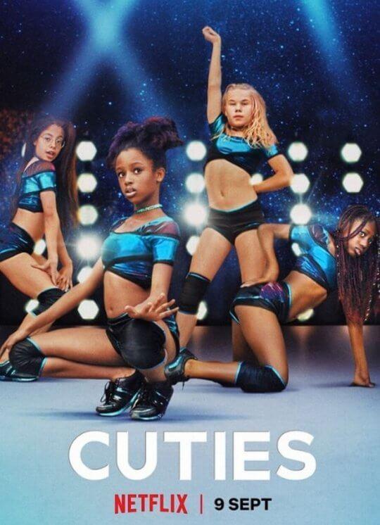 獲日舞影展肯定的法國劇情電影《小可愛》因 Netflix 宣傳海報涉及兒童性感化而致歉。