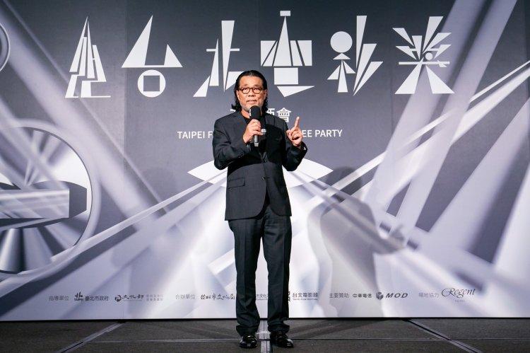 前任台北電影節主席李屏賓。