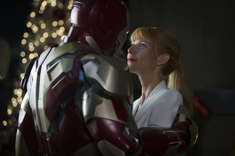 2013 年的《鋼鐵人 3》,小辣椒與東尼史塔克的感情更加穩固了。
