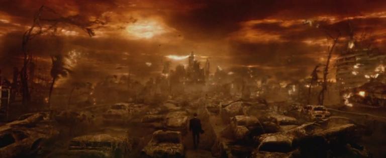 《康斯坦汀:驅魔神探》劇中一景,地獄的樣貌該如何搭建才好?