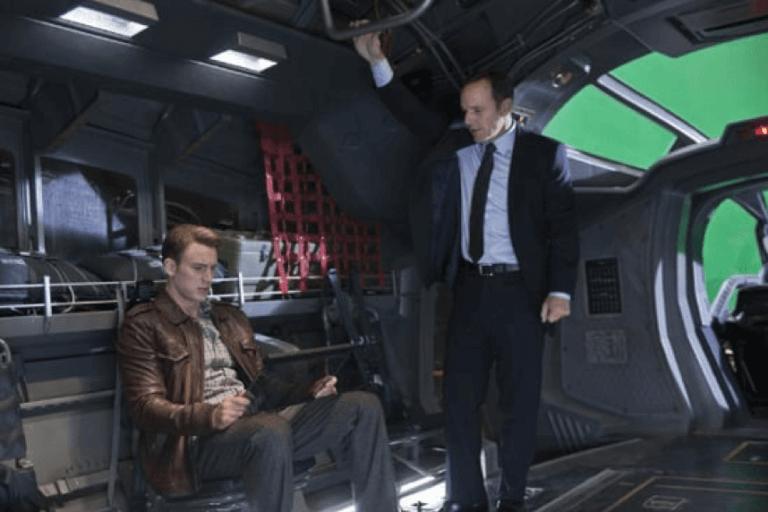考森探員 (Agent Coulson) 是美國隊長的小粉絲。