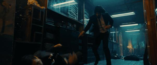 《捍衛任務 3:全面開戰》電影劇照,不閹割不和諧的殺伐動作戲讓觀眾看的血脈賁張。