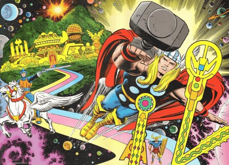 漫威漫畫中的雷神索爾系列,將神話魔法宇宙太空以及超級英雄要素通通摻在一起,要拍成受歡迎的電影並不容易。