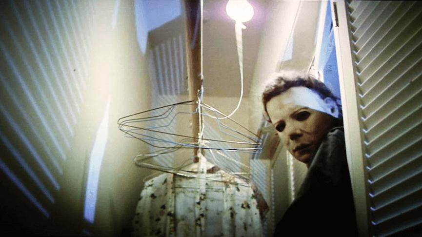 戴著純白面具的 殺人魔 : 麥可邁爾斯 (《 月光光心慌慌 》)。