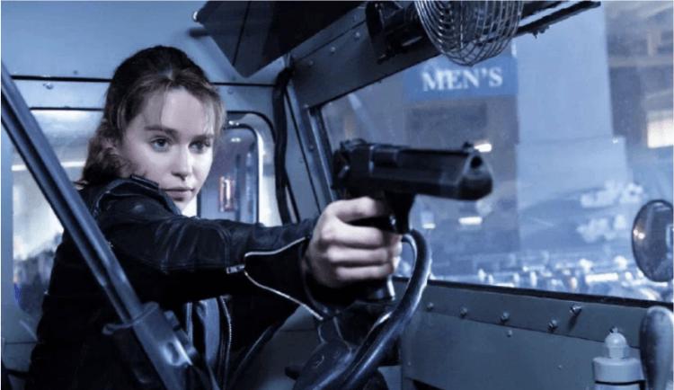 在電影《魔鬼終結者:創世契機》中,莎拉康納由艾蜜莉亞克拉克 (Emilia Clarke) 飾演。