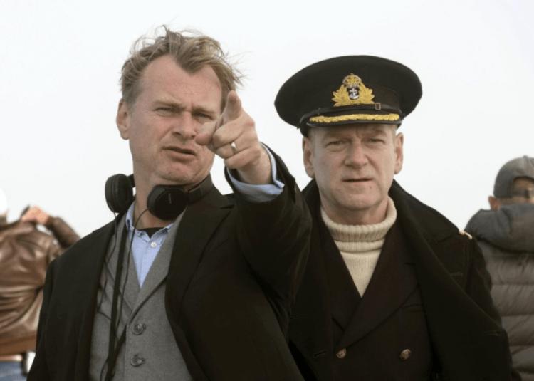 克里斯多福諾蘭執導《敦克爾克大行動》(Dunkirk) 的側拍花絮。