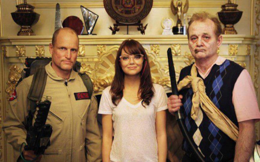昔日《 屍樂園 》的主要成員,目前在好萊塢已鼎鼎有名 : 魯賓弗來舍 導演、編劇 : 雷特瑞斯 & 保羅韋尼克 、主演卡司 : 傑西艾森柏格 艾瑪史東 艾碧貝絲琳 還有已經很有名的 伍迪哈里遜 。