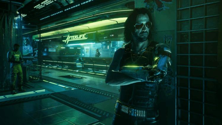 《電馭叛客 2077》找來「基哥」基努李維飾演遊戲中的角色:叛逆搖滾樂手「銀手強尼」。