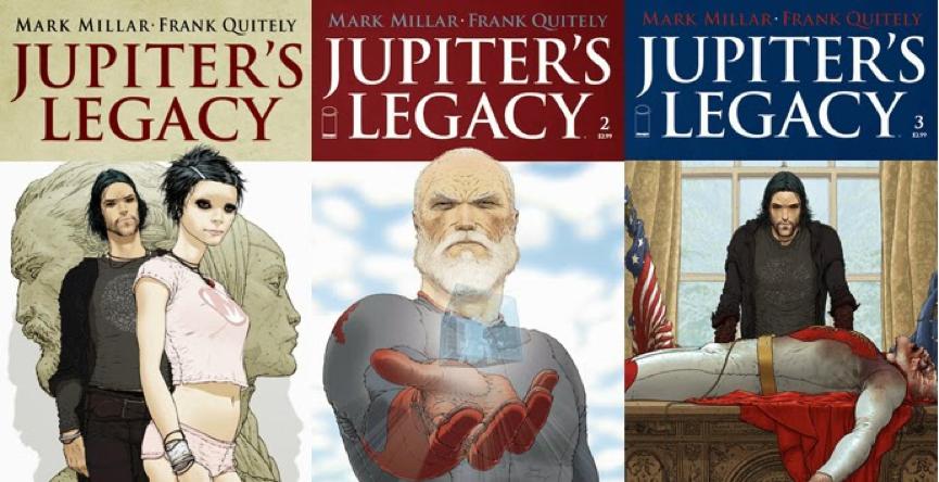馬克米勒 漫畫作品 《 朱比特的遺產 》。