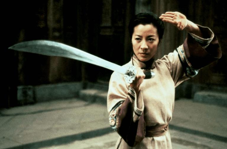 《臥虎藏龍》中的楊紫瓊。