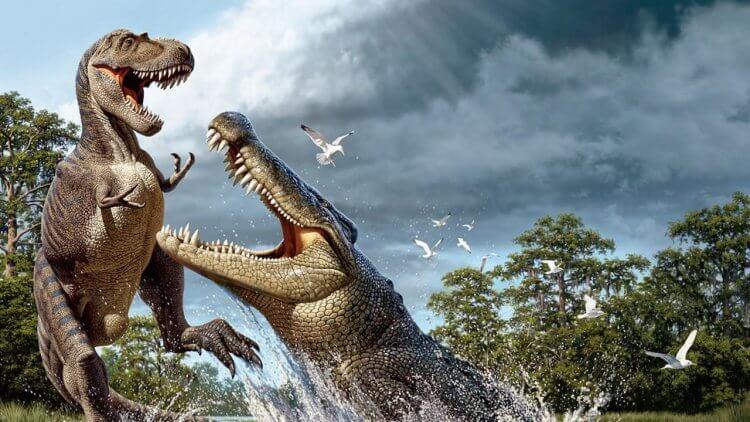 牙齒跟香蕉一樣大!動物災難電影界的明日之星—以恐龍為食、令「恐龍」聞風喪膽的恐鱷屬首圖
