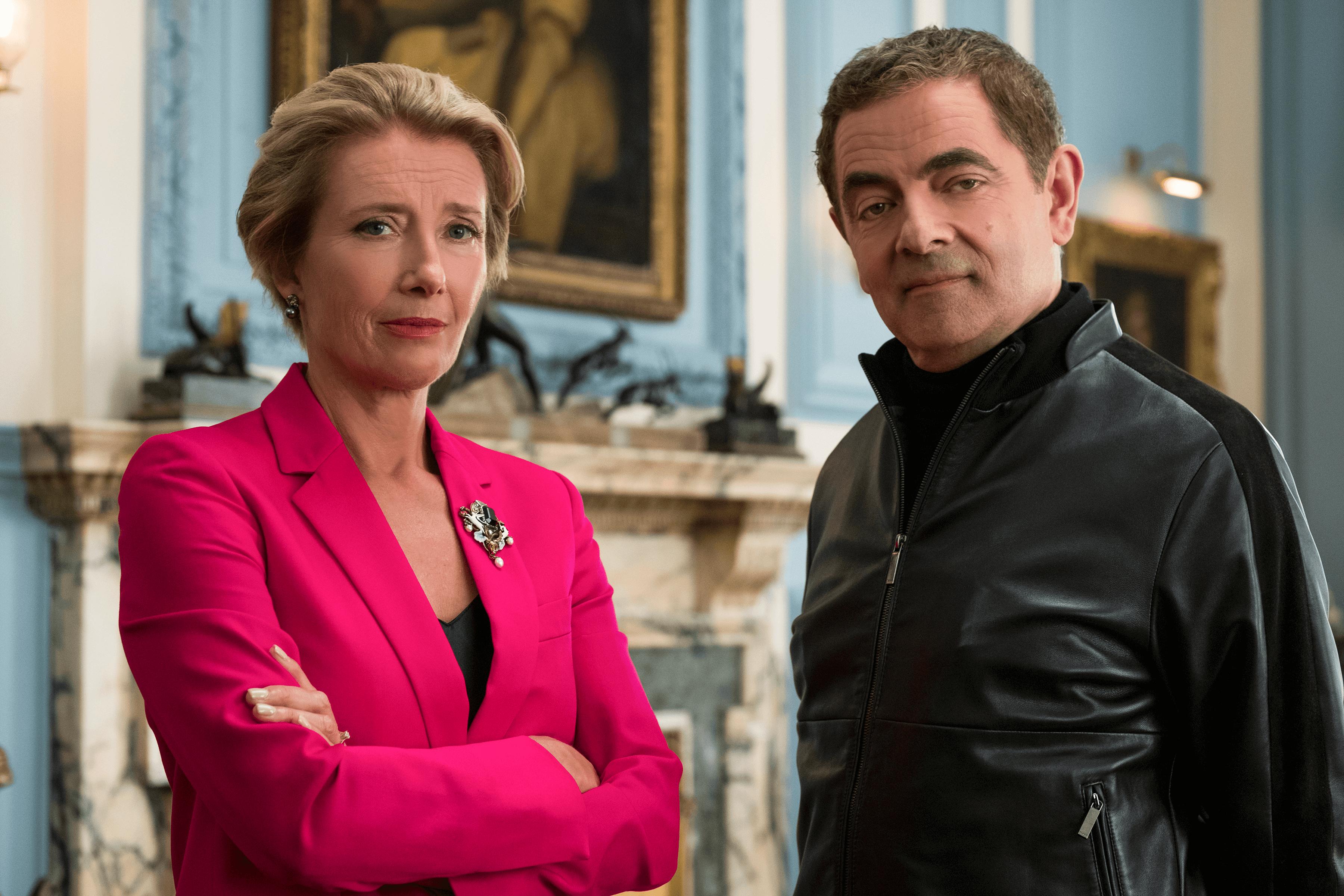 《 凸搥特派員 : 三度出擊》中請來 奧斯卡影后 艾瑪湯普遜 在片中飾演英國首相