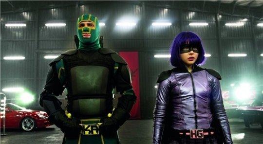 《特攻聯盟》中的「超殺女」與「屌爆俠」