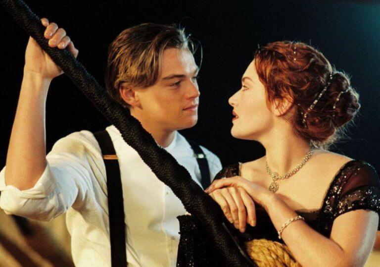 《鐵達尼號》(Titanic) 劇照。