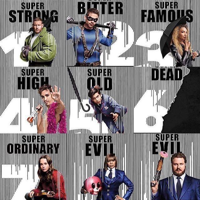 2019 年 Netflix 平台推出的漫改超能英雄影集《雨傘學院》,第一季的結局發展令觀眾「措手不及」。