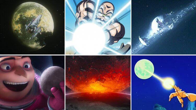 【月亮代表誰的心🌜】影視作品中被殘害的「月球」:它是神偷、外星人、工程意外、龜派氣功的沈默受災戶首圖