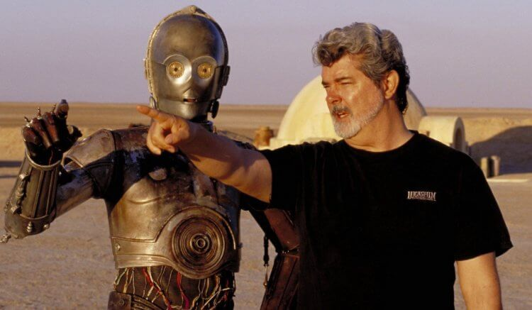 創造出《星際大戰》世界的名導喬治盧卡斯。