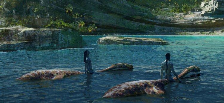 電影《阿凡達 2》美術概念圖。