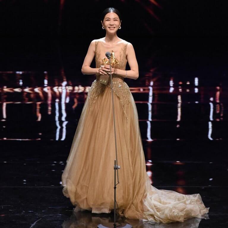 《誰先愛上他的》的謝盈萱榮獲第 55 屆金馬獎最佳女主角。