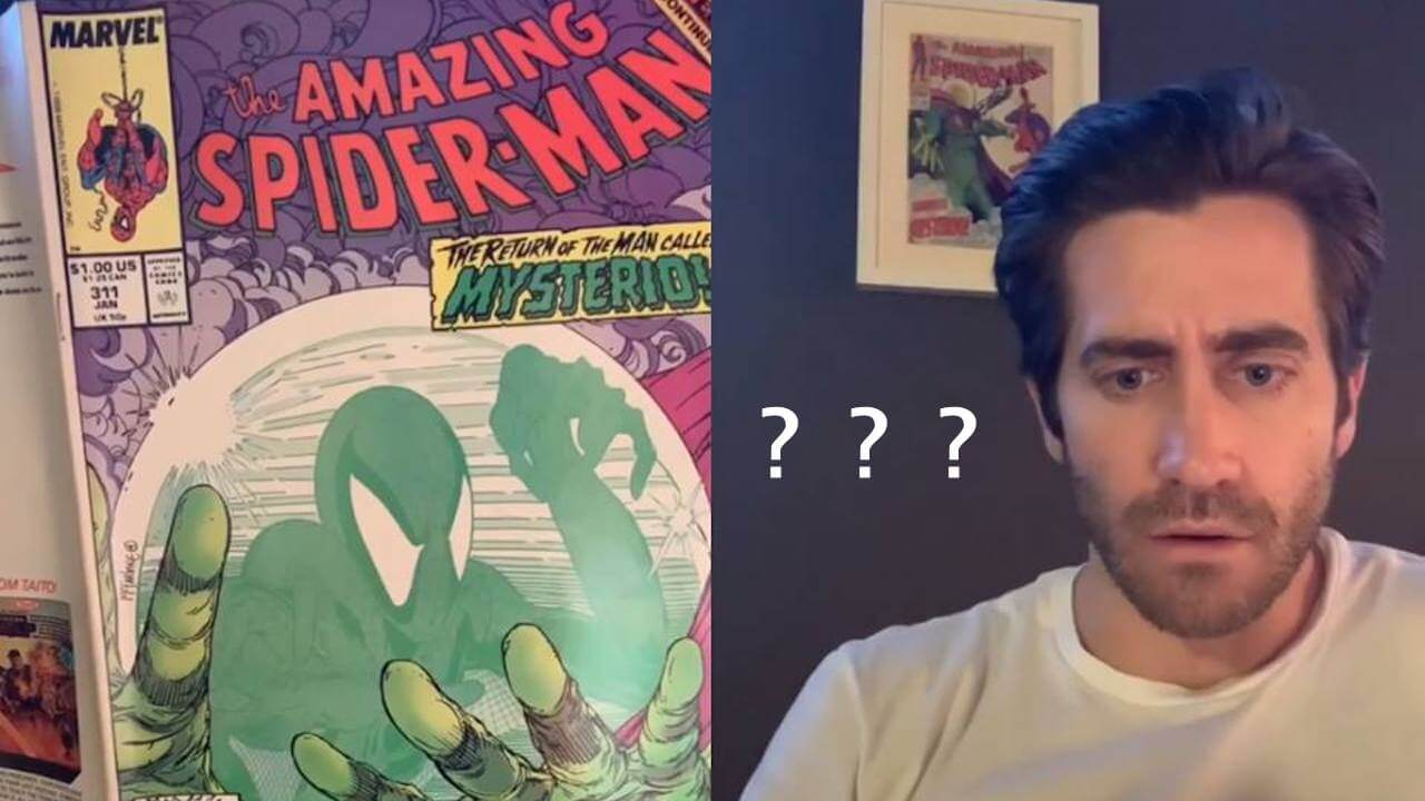 傑克葛倫霍 IG 首 PO 就自爆!「我在《蜘蛛人:離家日》演的竟然不是蜘蛛人?」首圖