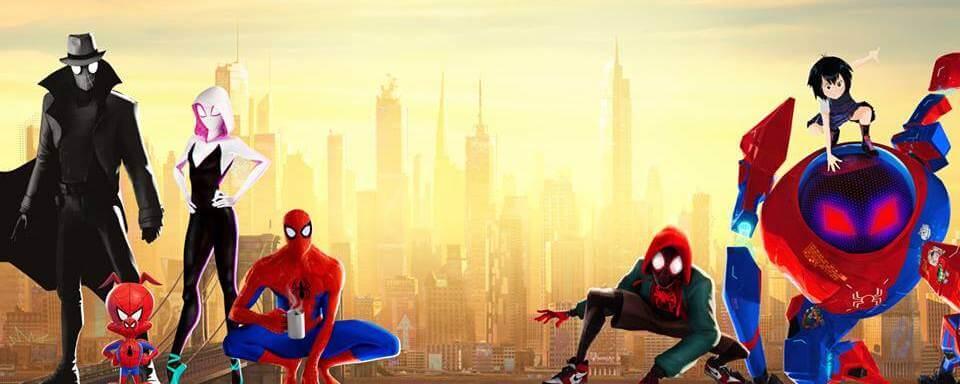 索尼的超級英雄動畫電影《蜘蛛人:新宇宙》(Spider-Man: Into the Spider-Verse) 。
