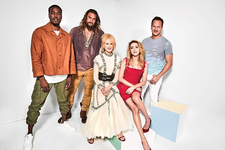 《水行俠》(Aquaman) 主要由 傑森摩莫亞 (Jason Momoa) 安柏赫德 (Amber Heard) 及妮可基嫚 (Nicole Kidman)、派翠克威爾森 (Patrick Wilson)、威廉達佛 (Willem Dafoe)、葉海亞阿巴杜馬汀二世(Yahya Abdul-Mateen II)演出