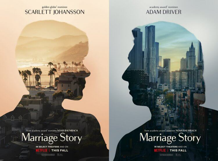 《婚姻故事》(Marriage Story) 海報設計