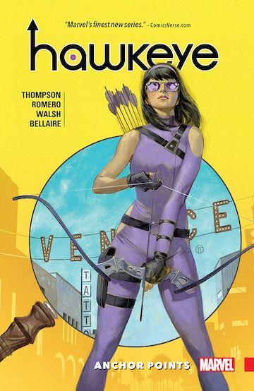 漫威系列漫畫中的「青少女」鷹眼:凱特畢夏普。