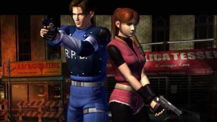《惡靈古堡 2》(Resident Evil 2) 遊戲畫面