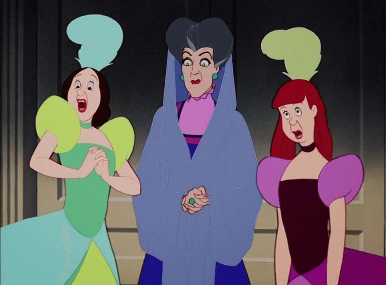繼《白雪公主》之後,《仙履奇緣》也為迪士尼動畫電影系列帶來壞壞繼母角色。